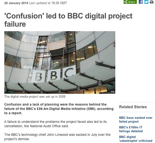 bbc failure